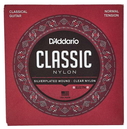 D'addario Classic Nylon - Normal Tension
