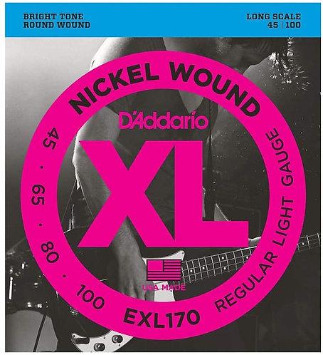 D'Addario XL Bass Strings - Various Gauges