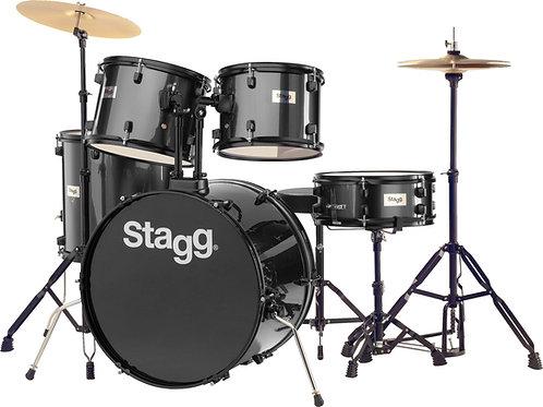"""Stagg 5 Piece Drum Kit - 22"""" Bass Drum"""