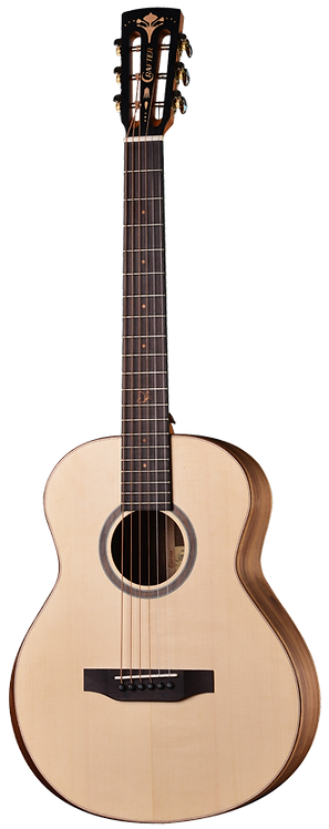 Crafter MINO Series, Walnut Back & Sides, Mini Travel Electro Acoustic