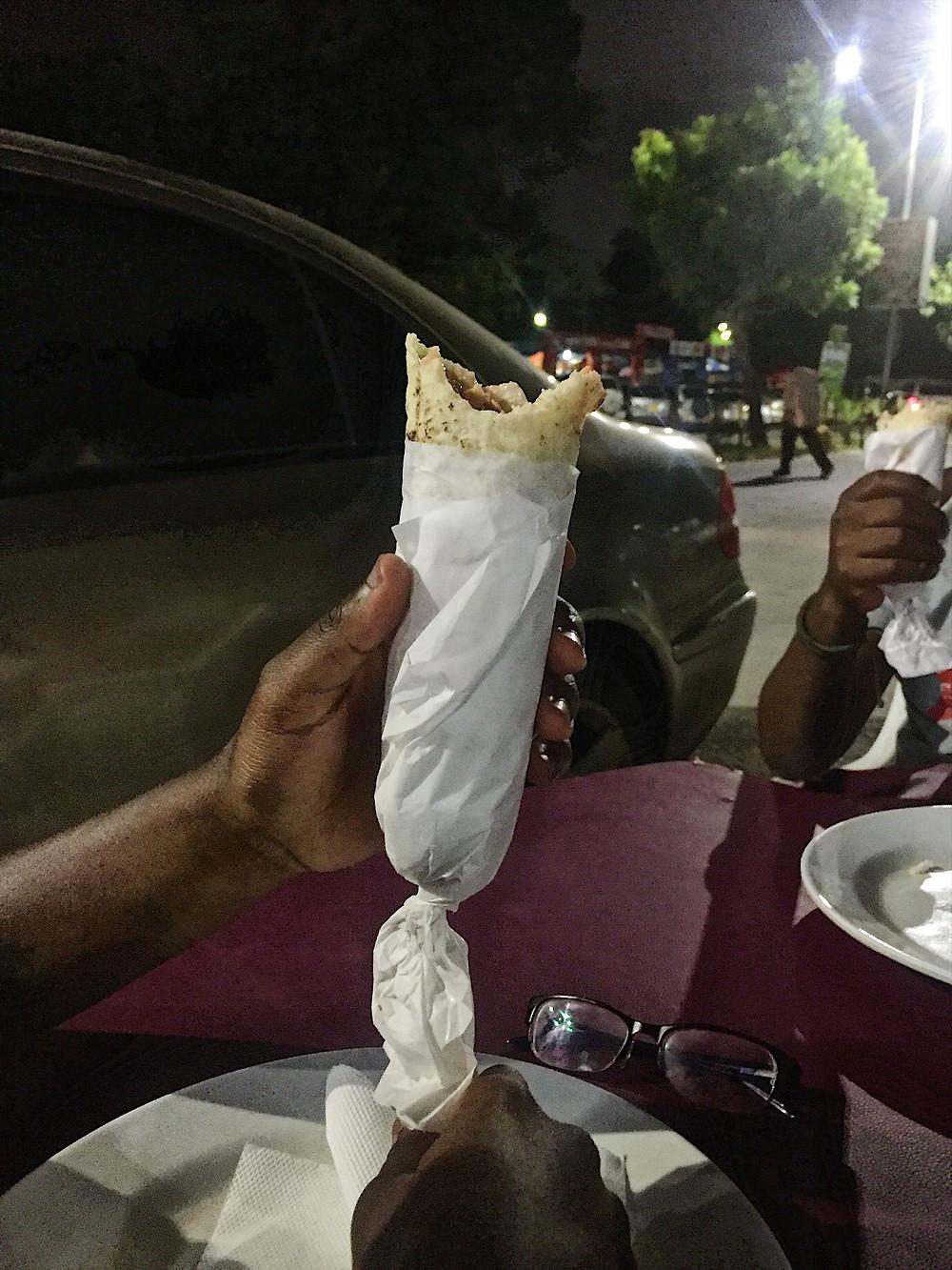 Shawarma from Rissa Barbecue