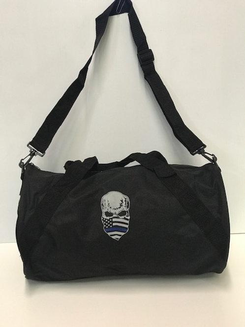 Blue Line Skull Bag
