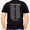 Thumbnail: Black Blue Line Roll Call Shirt