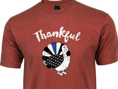 Thankful Blue Line Turkey