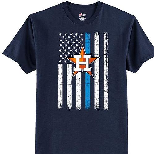 Blue Line Astro's Shirt