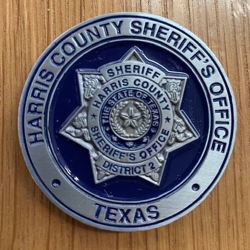 HCSO Patrol District 2 Coin