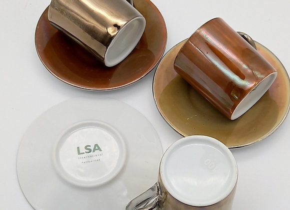 Espresso Cup and Saucers/LSA International