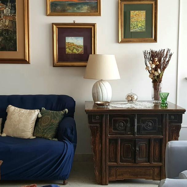 Irene's mum living room