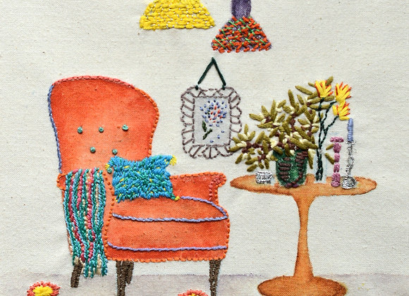 Bright Armchair - Wall Decoration