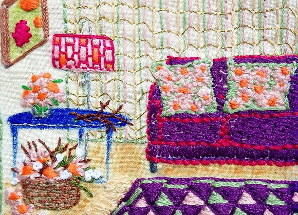 Sofa - Wall Decoration - Small Embroidery
