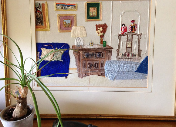 Deposit - Commission - Embroidered Interior