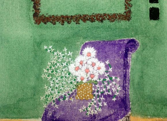 Purple Chair - Wall Decoration