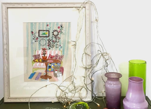 Stripes - Framed Wall Decoration