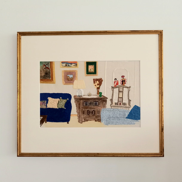 Embroidered Interior/Commission
