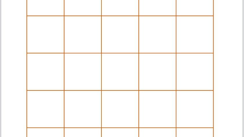 Printable BINGO PDF