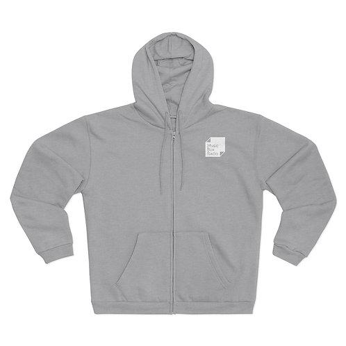MBR Unisex Hooded Zip Sweatshirt