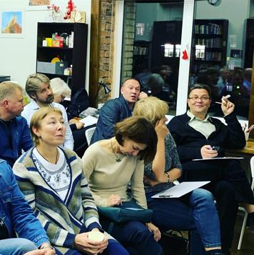 На лекции Секацкого