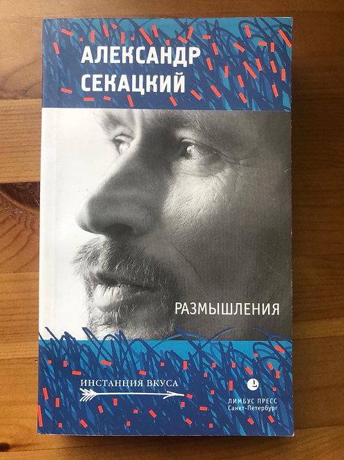 Размышления Александр Секацкий