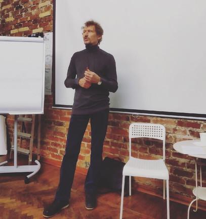 Александр Секацкий в Книготеке