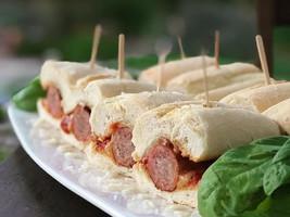 6-hour Italian Sausage Sliders tonite...