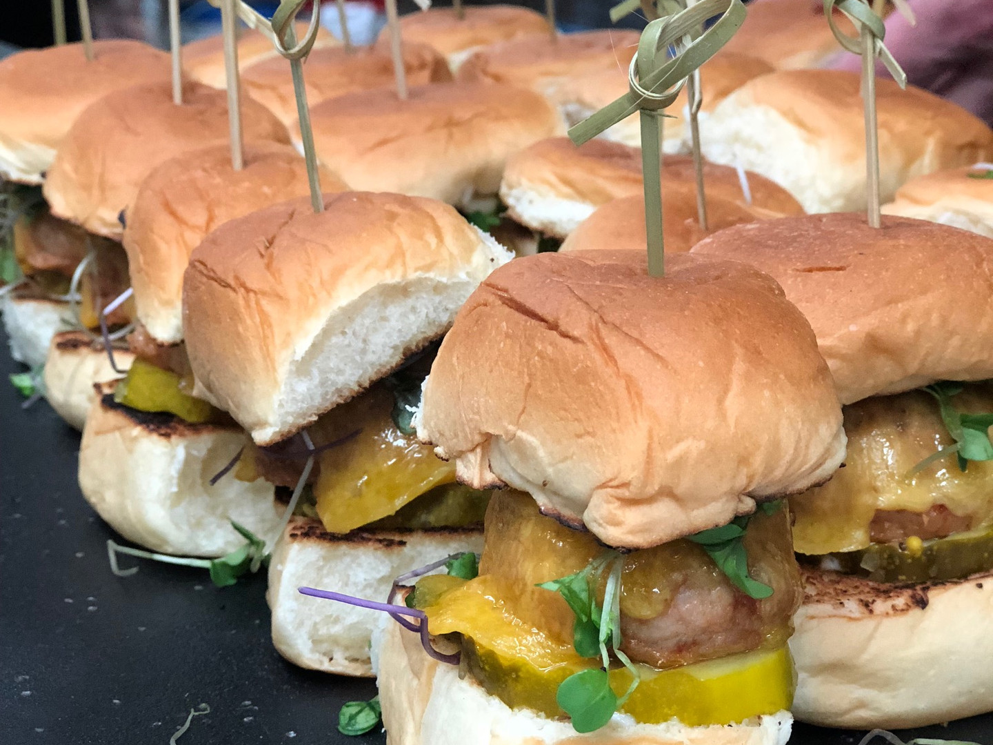 Our Spicy Chicken Sliders - always a favorite!