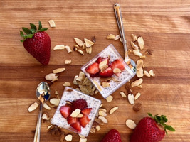 Sweet Chia Pudding Cups