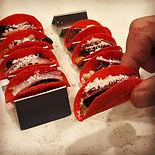 Spicy portobello 🌮 on _minitacoshells i