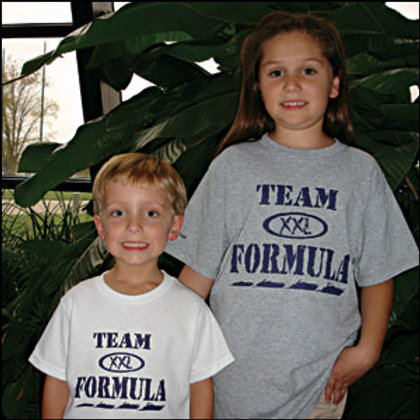 Youth XX Large Team Formula Tees