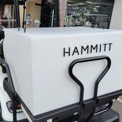 Branded Acrylic Delivery Cart