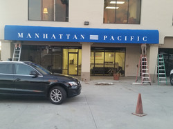Manhattan Pacific Awning
