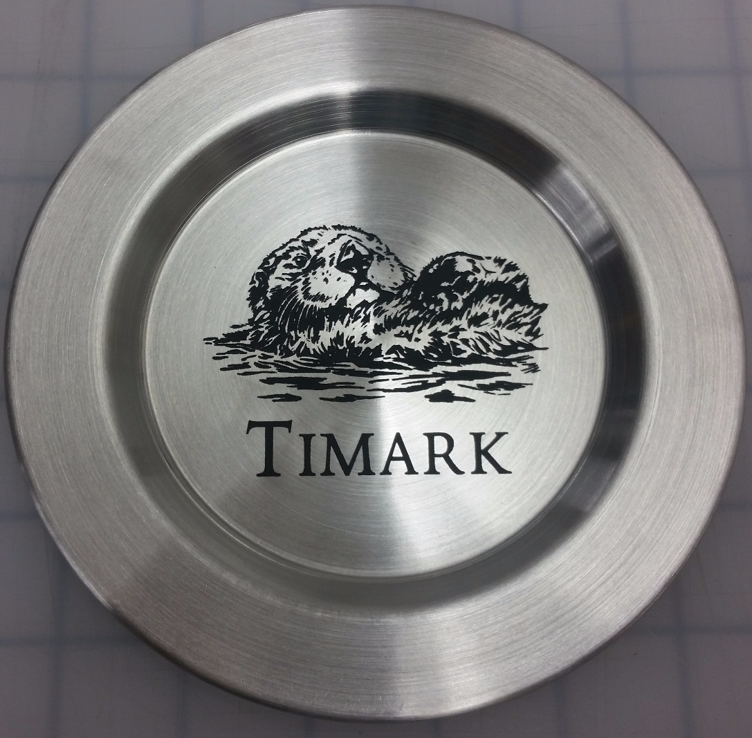 Laser Engraved Stainless Steel