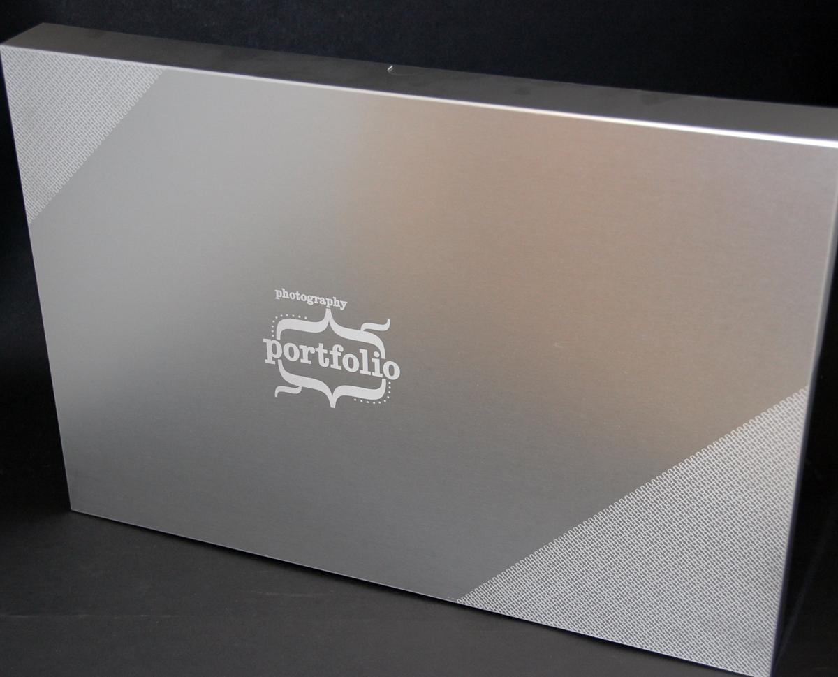 Etched Cardboard box