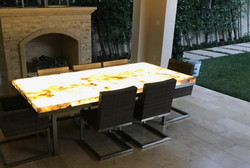 Lighted Dining Table
