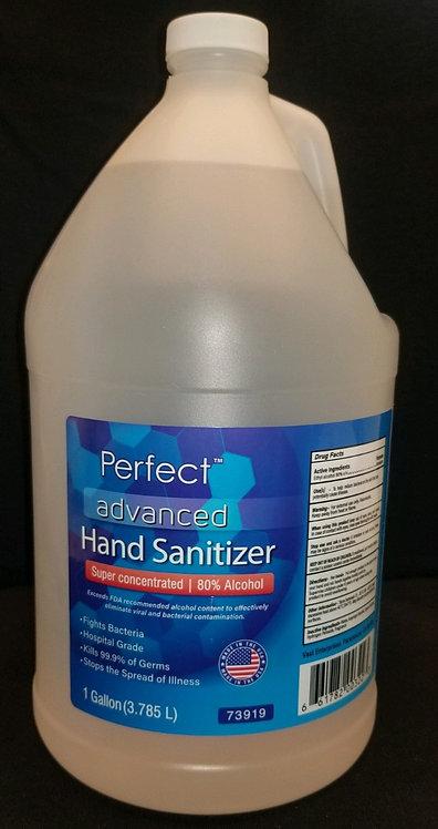 Perfect Hand Sanitizer 80% - 1 Gallon  (128 oz.) Liquid