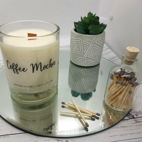 Coffee Mocha Medium Candle