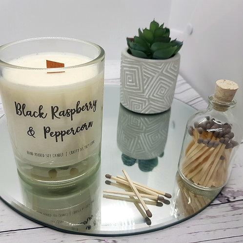 Black Raspberry and Peppercorn Medium Candle