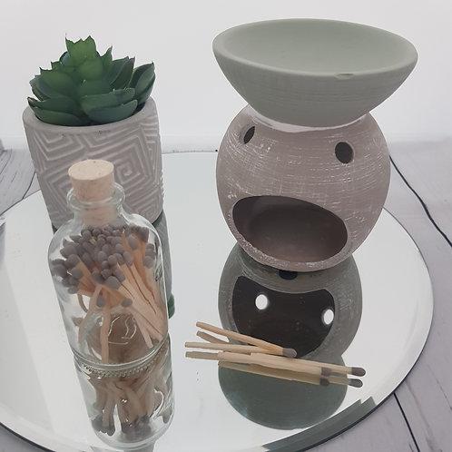 Mini Eucalyptus Ceramic Wax Melter