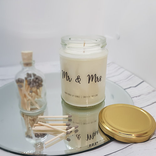 Mr & Mrs Jar Candle