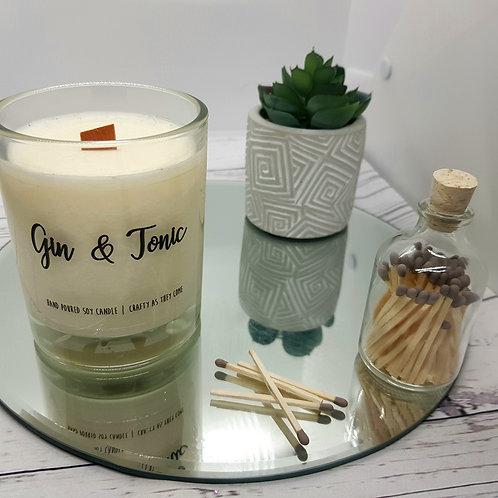Gin and Tonic Medium Candle