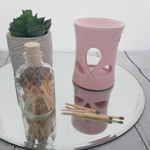 Pink Mini Ceramic Wax Burner