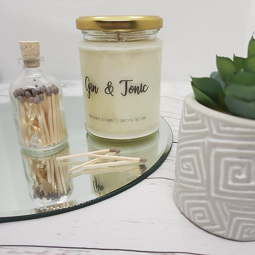 Gin and Tonic Jar Candle