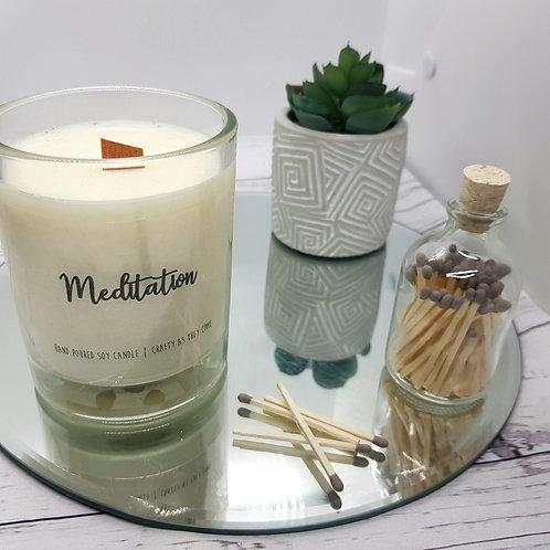 Meditation Medium Candle