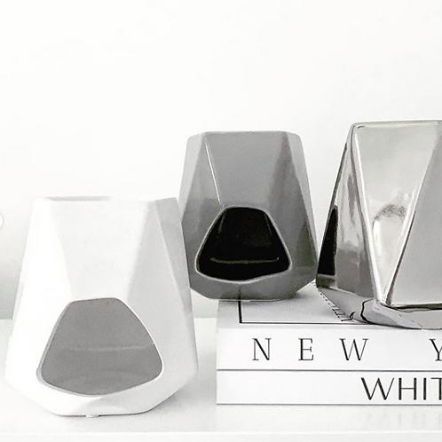 White Aspen Ceramic Wax Burner