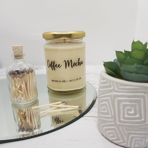 Coffee Mocha Jar Candle
