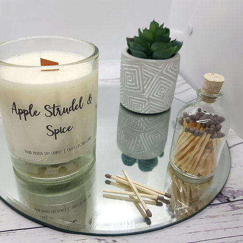Apple Strudel and Spice Medium Candle