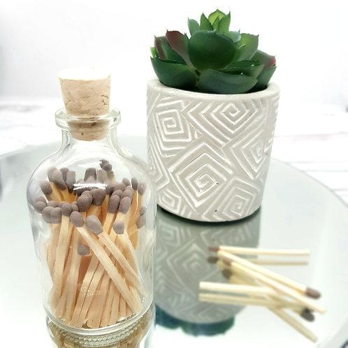 Matchsticks in a Jar