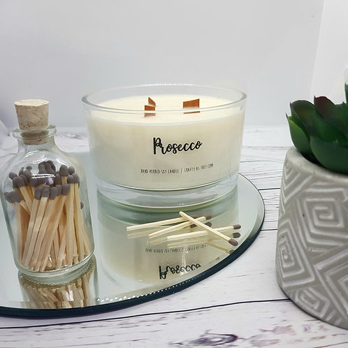 Prosecco Large Candle