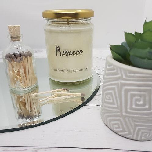 Prosecco Jar Candle