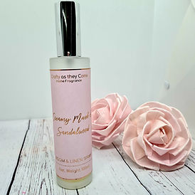 Creamy Musk and Sandalwood Room and Linen Spray