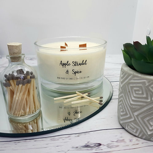 Apple Strudel and Spice Large Candle